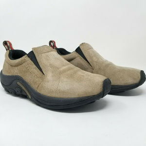 Merrell Mens Jungle Moc Slip-On Shoes